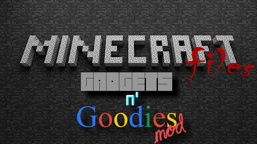 Gadgets n' Goodies - разные гаджеты, оружие и приспособления