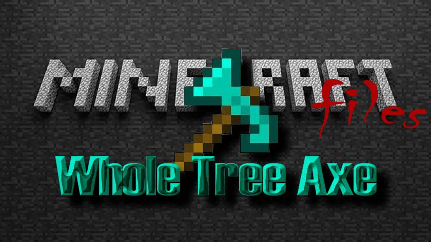 Whole Tree Axe - топор по дереву