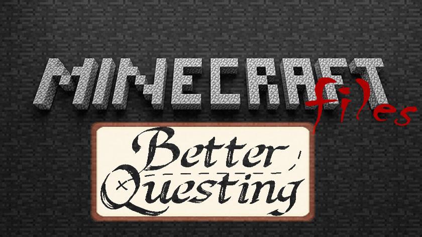 Better Questing - улучшенные квесты