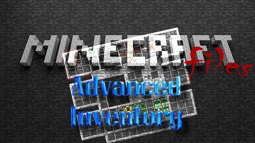 Advanced Inventory - улучшенный инвентарь