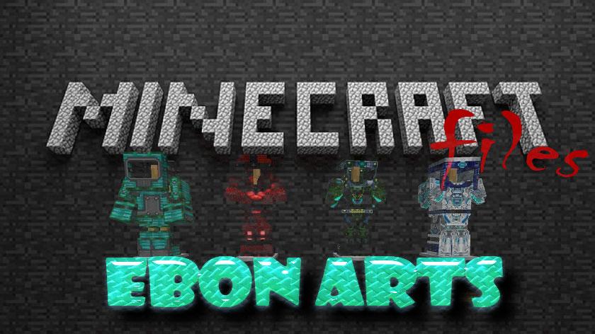 Ebon Arts - руда, блоки, оружие и другое