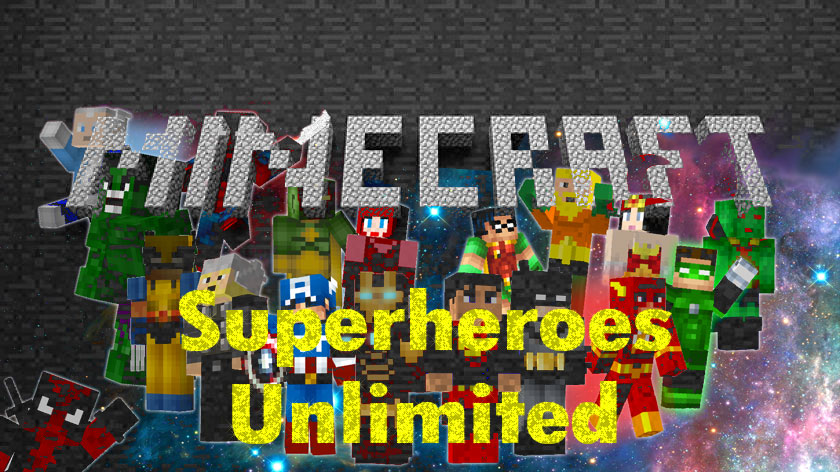 Superheroes Unlimited - мод на супергероев