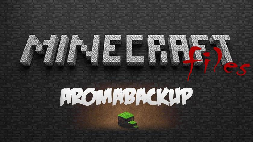AromaBackup - сохрани свой мир