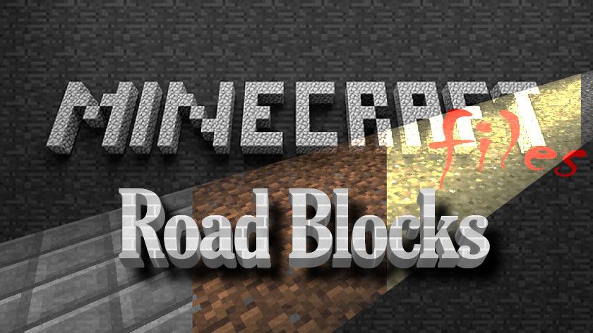 Road Blocks - дороги и тротуары