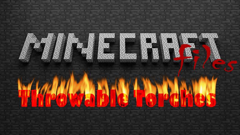 Throwable Torches - метательные факелы