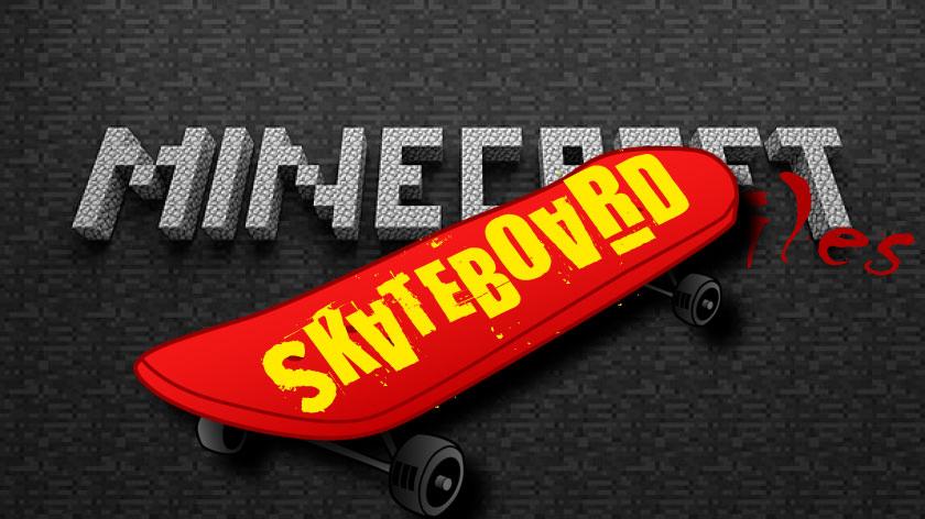 Skateboard - скейтборд в Майнкрафт