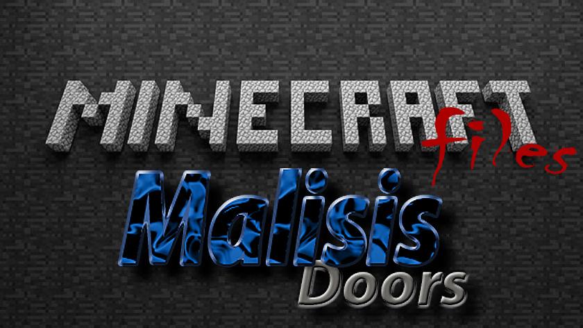MalisisDoors - мод на двери