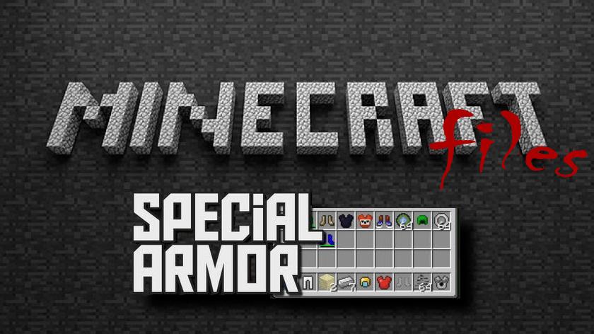 Special Armor - мод на новую броню