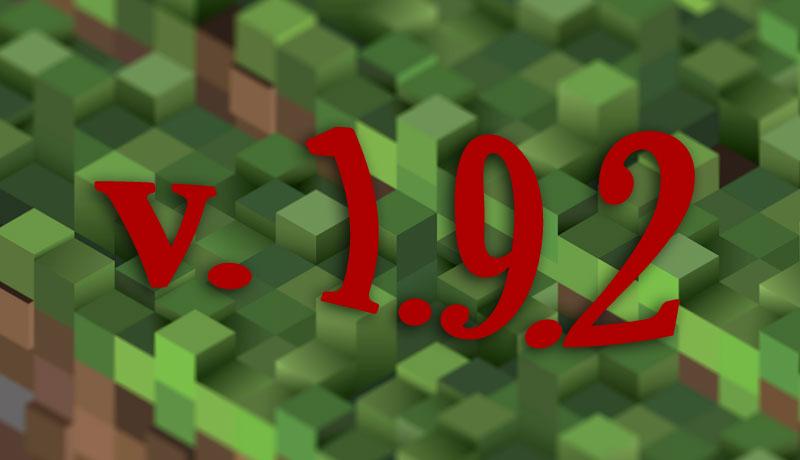 Minecraft 1.9.2