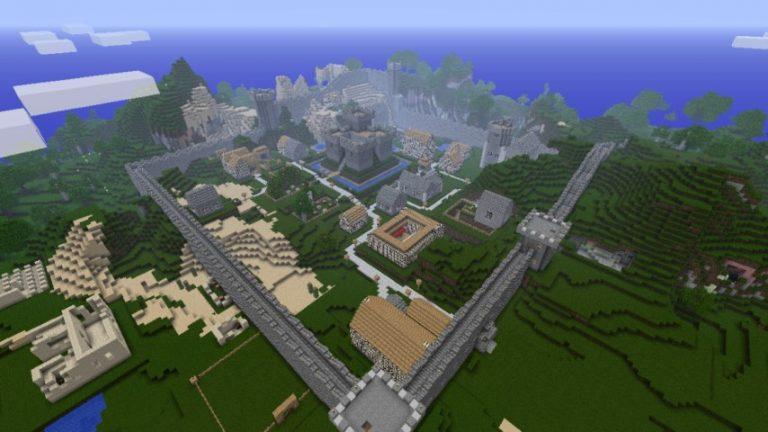 Millenaire на майнкрафт 1.7.10 - деревни с жителями minecraft