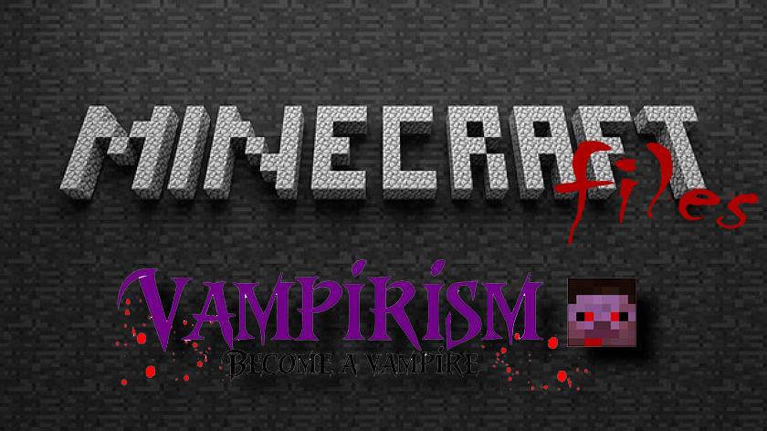 Vampirism - мод на вампиров