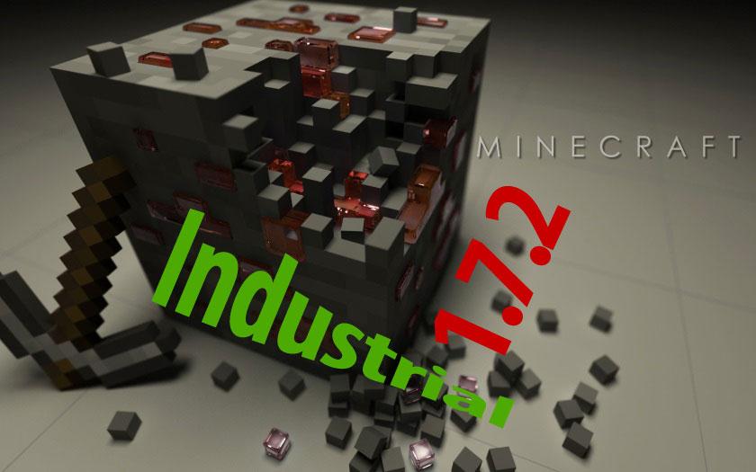 Майнкрафт 1.7.2 с индустриальными модами Industrial Craft 2, BuildCraft