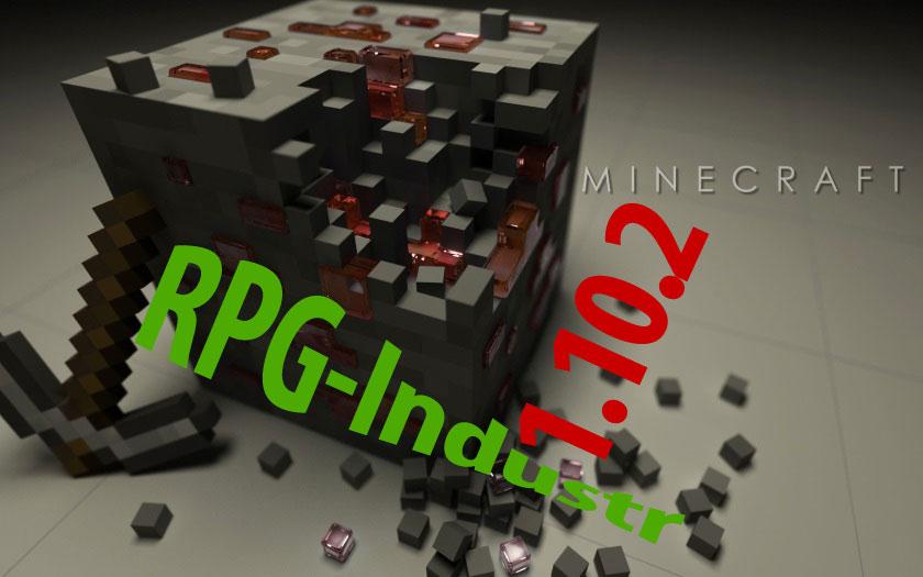 Сборка Майнкрафт 1.10.2 с РПГ и индустриальными модами и шейдерами