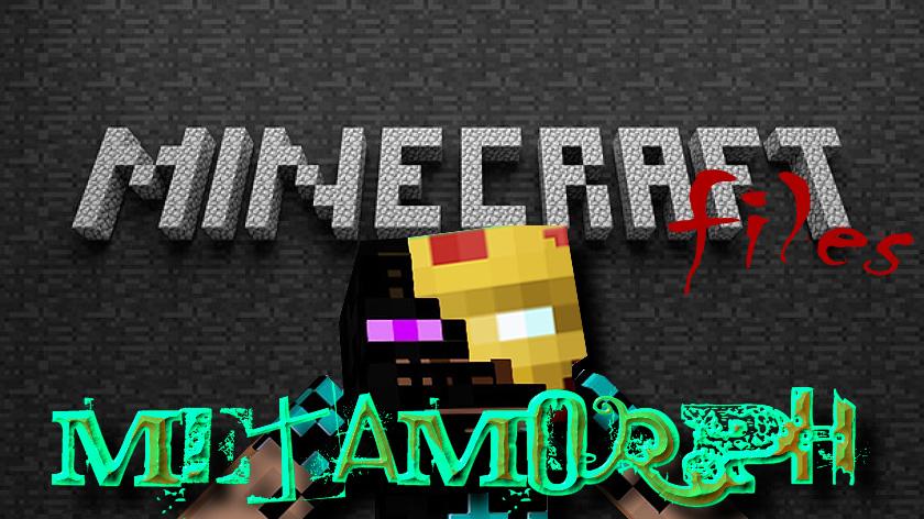 MetaMorph - мод на превращение в мобов при их убийстве