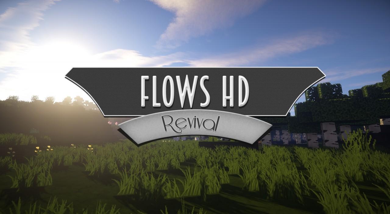 [128x] [64x] Flows HD - высококачественные текстуры