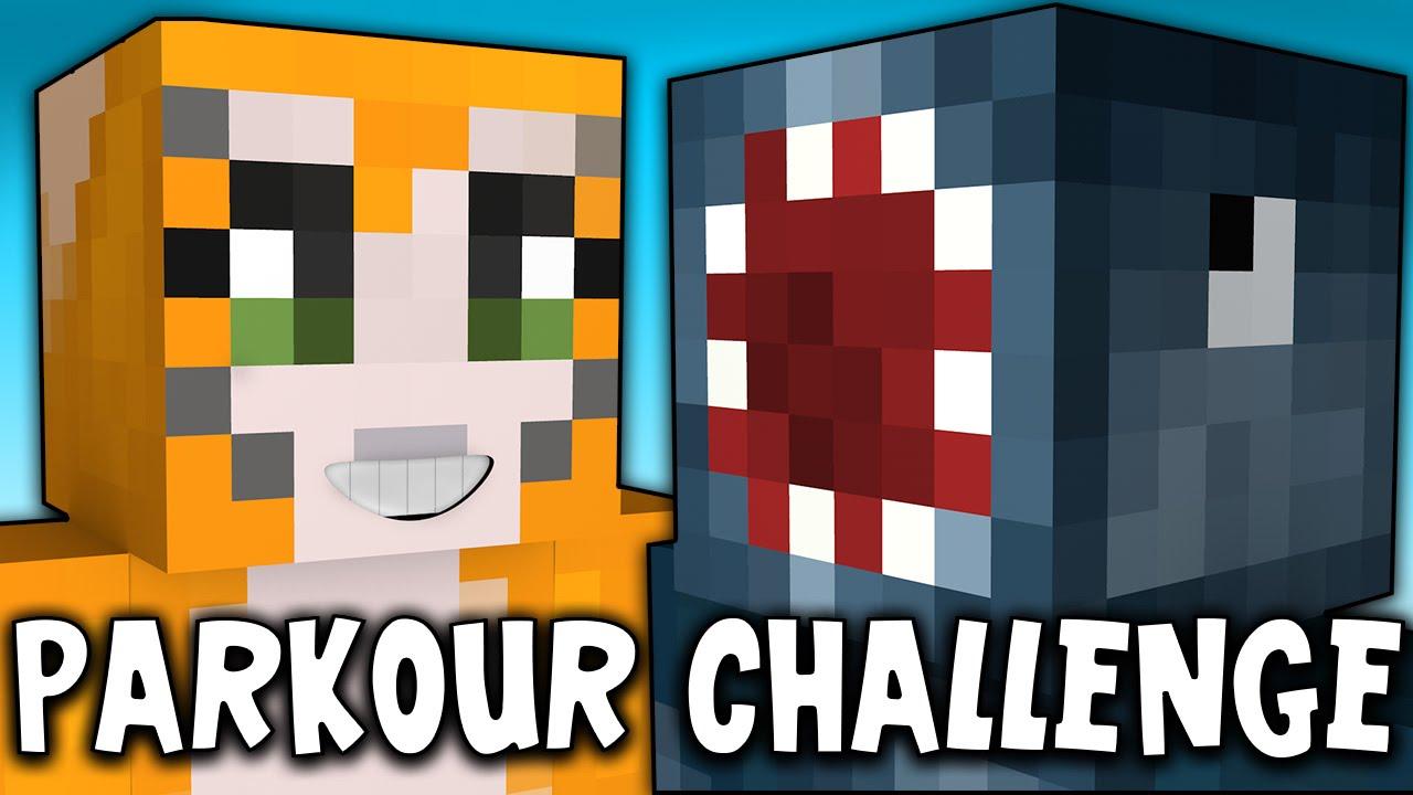 Parkour Challenge - паркур карта