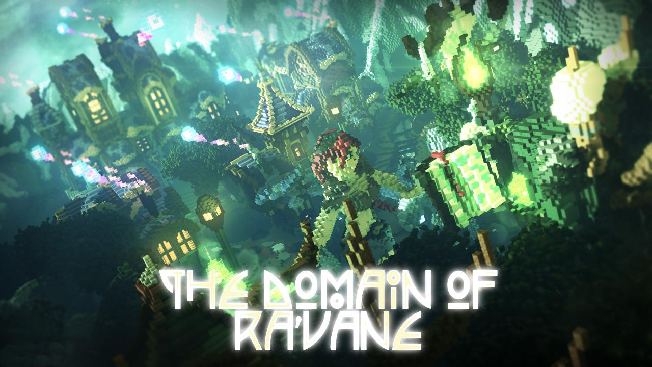 The domain of Ra'vane - волшебный, сказочный город