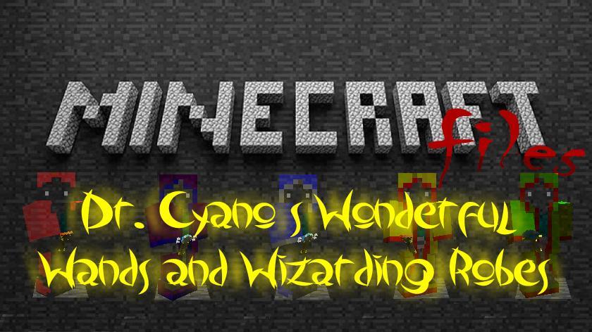 Dr. Cyano's Wands and Robes - волшебные палочки и мантии магов