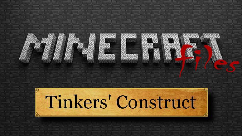 Tinkers Construct - создание уникальных вещей