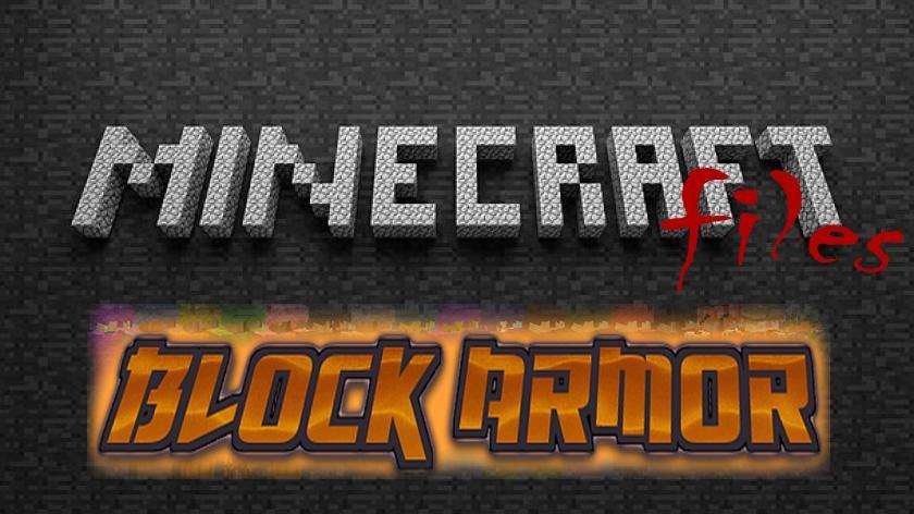 Block Armor - броня из любых блоков