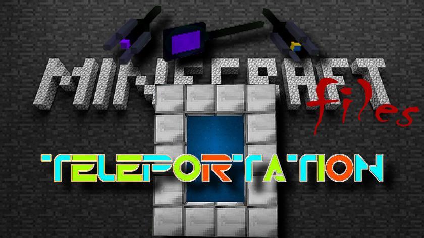 Teleportation - мод на телепорты