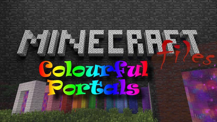 Colourful Portals - цветные порталы