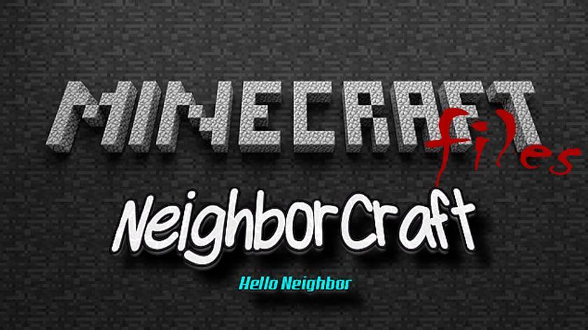 Neighbor Craft - мод по игре Hello Neighbor