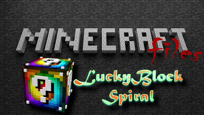 Lucky Block Spiral - спиральные лаки блоки