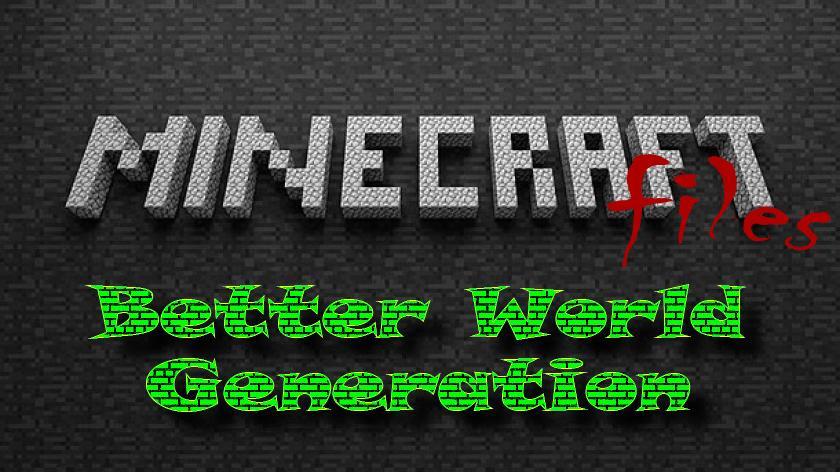 Better World Generation - улучшенная генерация мира