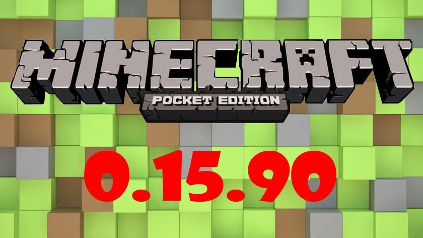 Майнкрафт Покет Эдишн 0.15.90