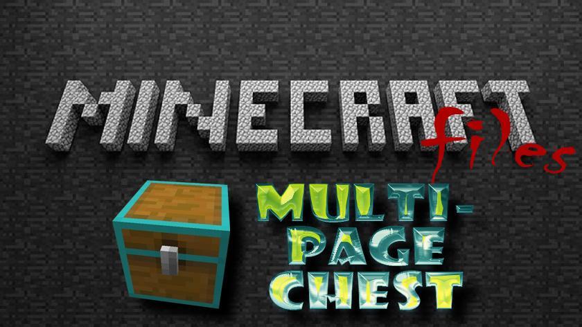 Multipage Chest - огромный сундук
