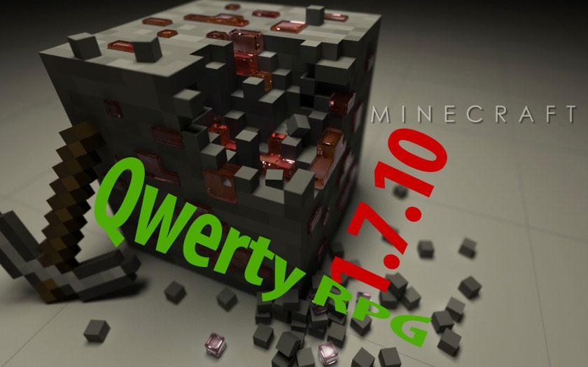 Сборка Майнкрафт 1.7.10 Qwerty RPG, 60 модов
