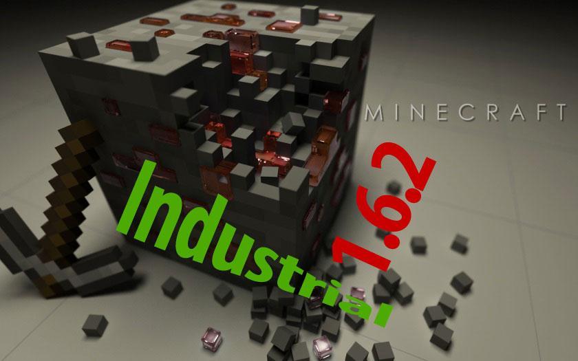 Индустриальная сборка Майнкрафт 1.6.2 для слабых ПК