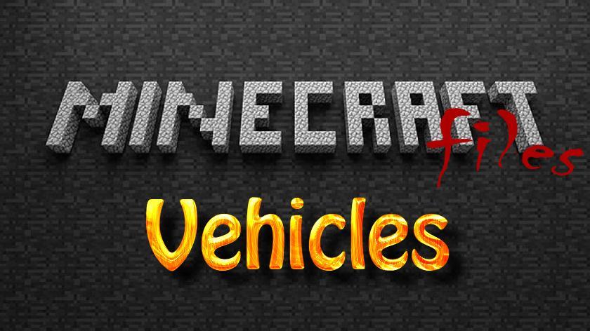 Vehicles - мод на машины, самолеты, мотоциклы