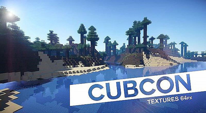 [64x] Красивый ресурс-пак CubCon