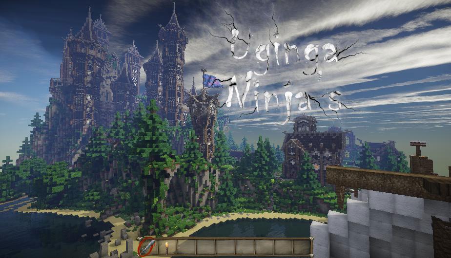 Uginga Ninja's - средневековый замок