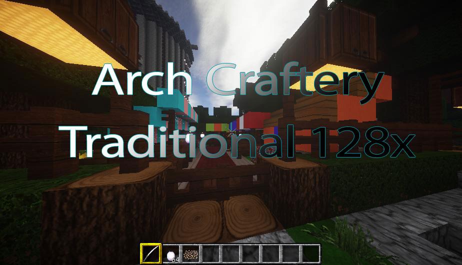 [128x] Традиционные текстуры ArchCraftery