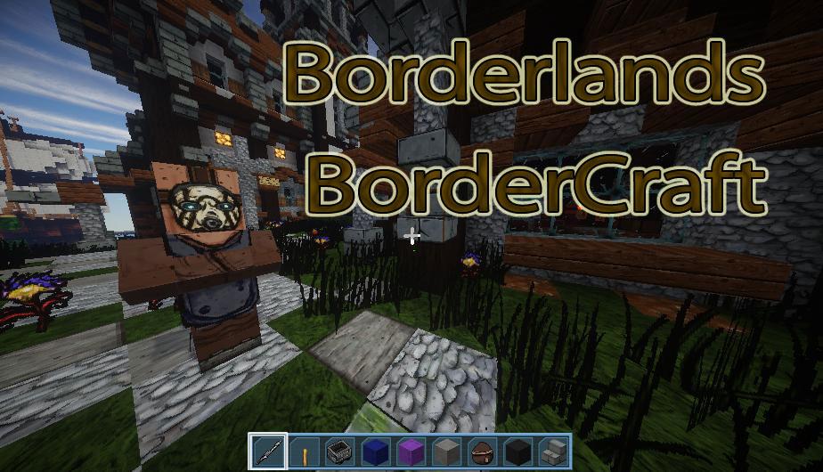 [128x] Для любителей Borderlands - BorderCraft