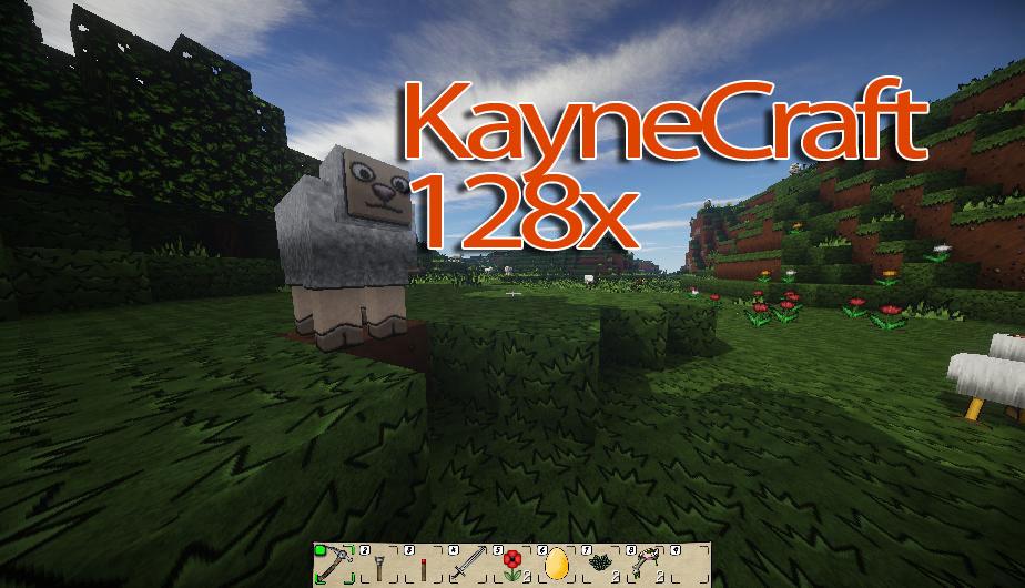 [128x] [64x] [32x] Оригинальные текстуры KayneCraft