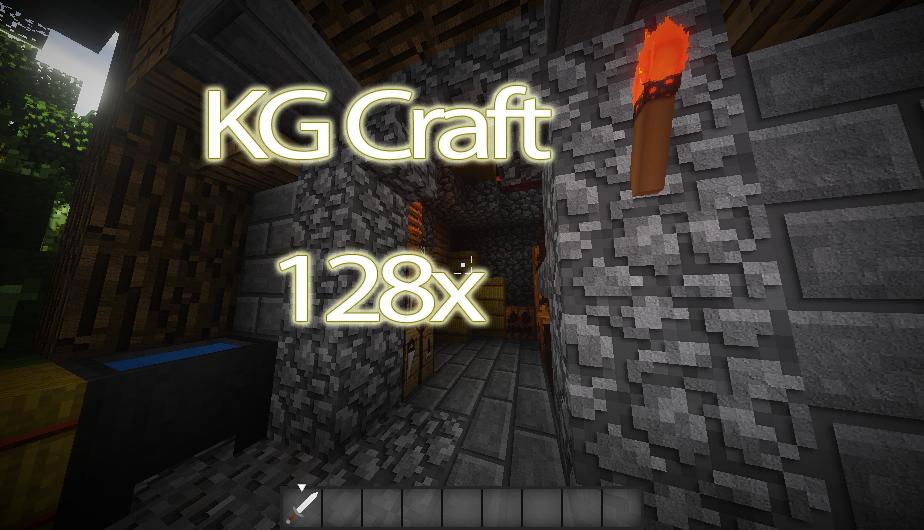 [128x] Классические объемные текстуры в HD разрешении KG Craft