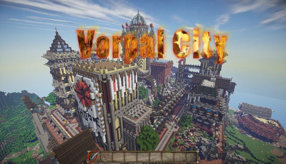 Vorpal City - стимпанк город
