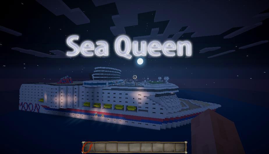 Sea Queen - огромный корабль