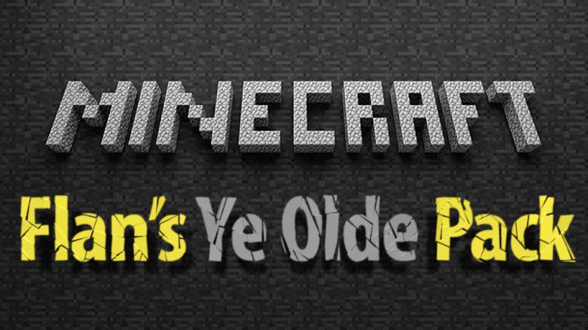 Flan's Ye Olde Pack - биплан и арбалет
