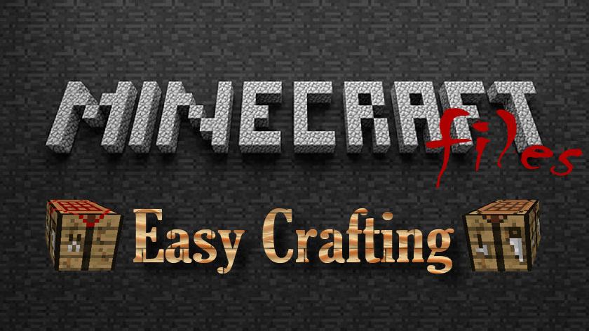 Easy Crafting - мод на простой крафт