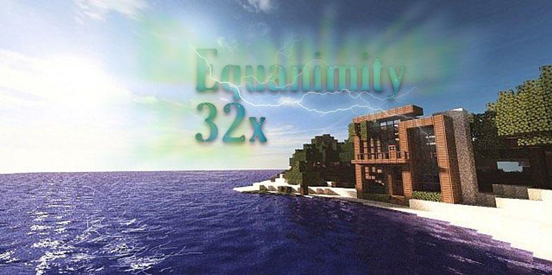 [32x] Equanimity - современные текстуры