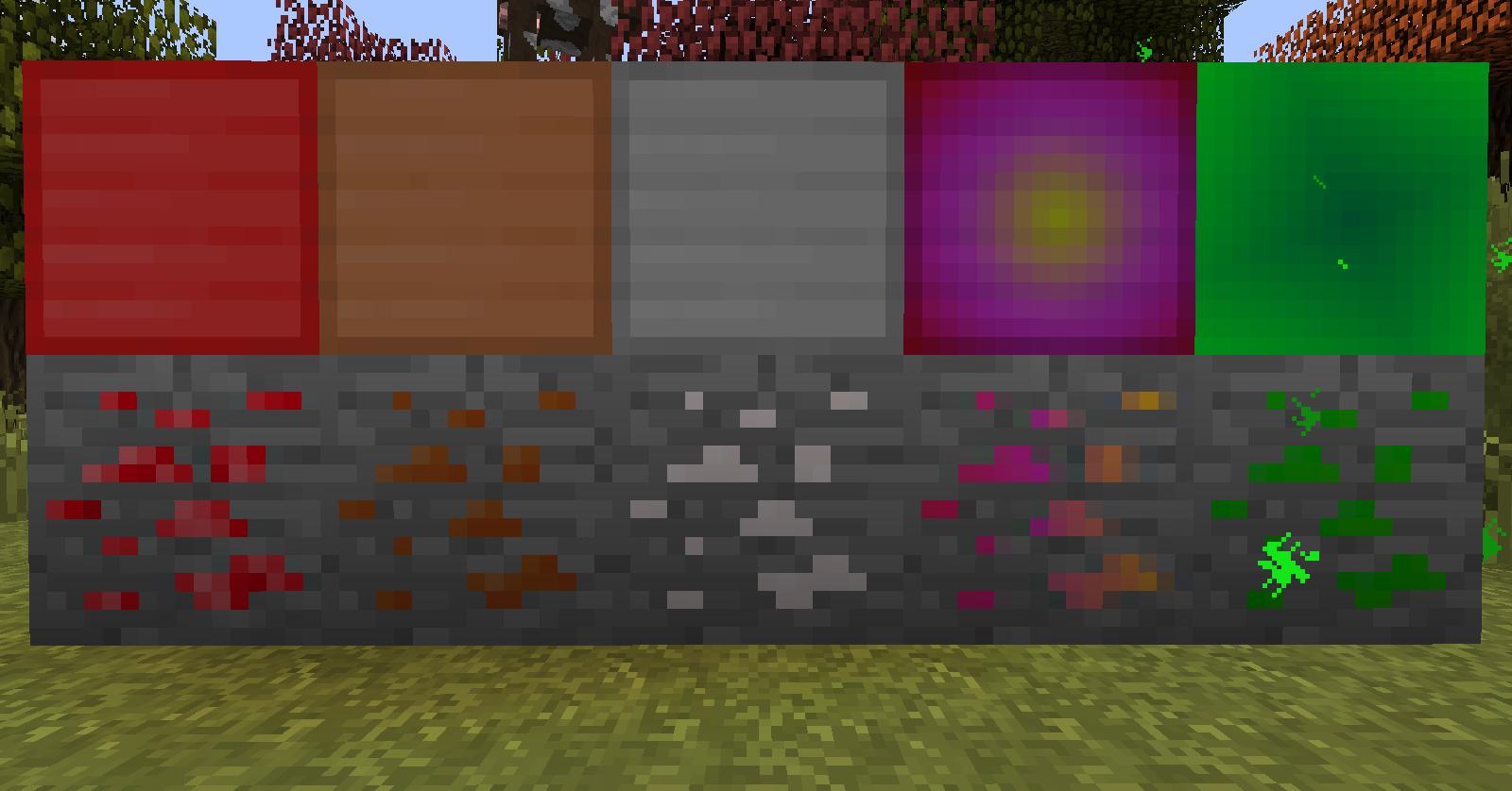 Скачать мод на новые предметы для Minecraft PE 0.13.1
