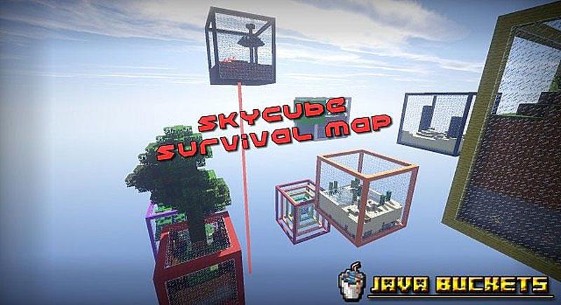 Sky Cubes - карта на выживание