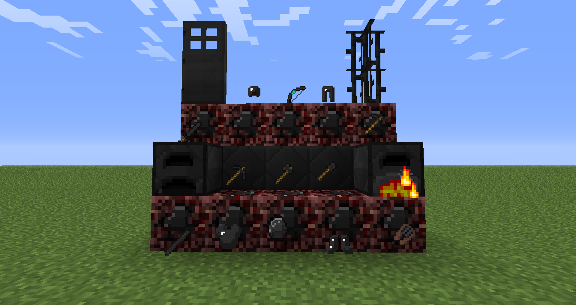 Мод на майнкрафт фиолетовая руда