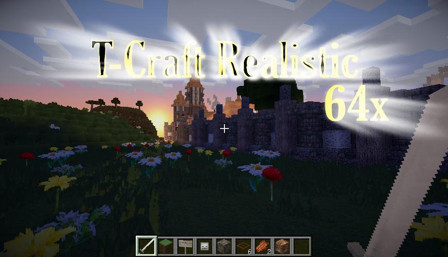 [64x] T-Craft Realistic - реалистичные текстуры