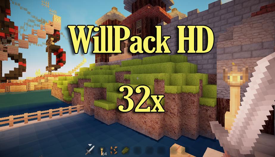 [32x] Willpack HD светлые текстуры